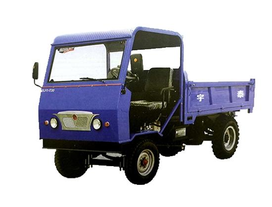 单缸四驱工程车