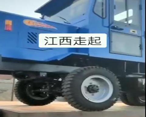 宇泰四不像工程车,发往江西