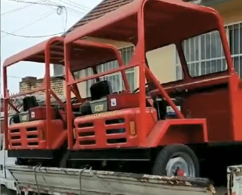 宇泰前翻工程车